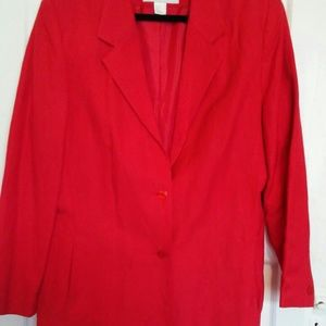 Jackets & Blazers - Women's blazer. Red